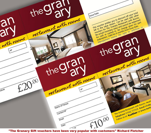 Gift Vouchers For Restaurants